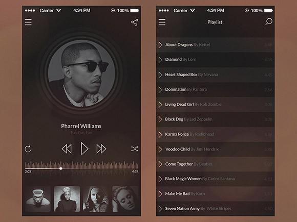 ios7_vintage_music_player_psd
