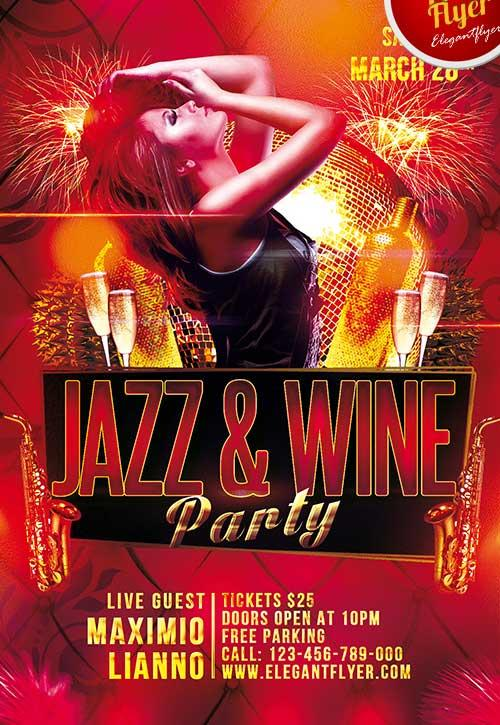 free_jazz_&_wine_club_flyer_psd_template