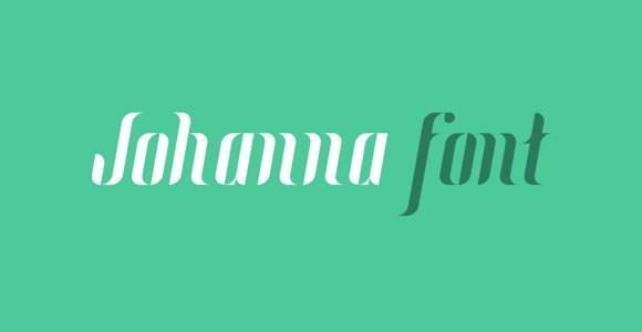 johanna_free_font