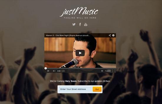 just_music_maintenance_template