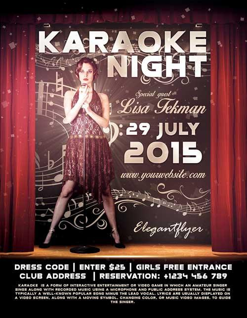 free_karaoke_night_psd_flyer_template