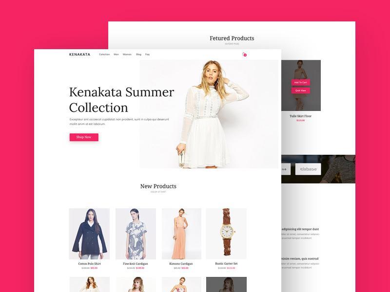 kenakata_ecommerce_bootstrap_template
