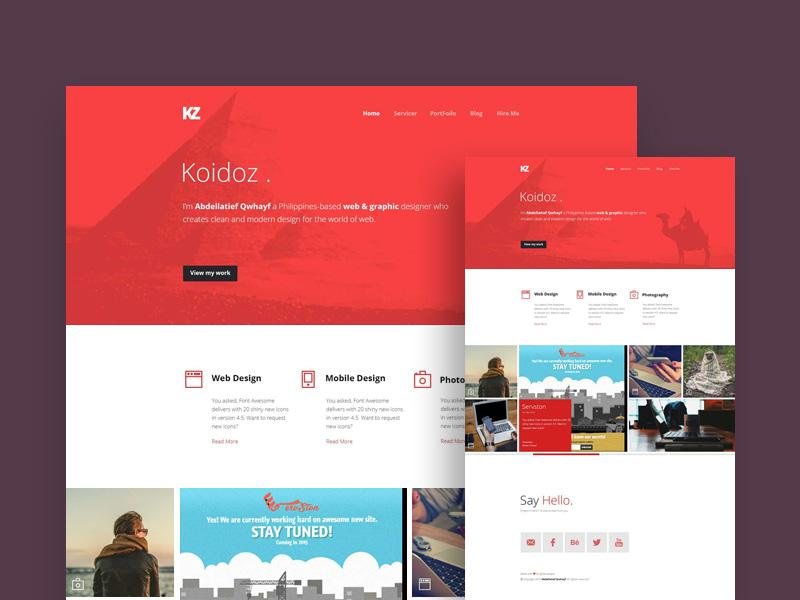 koidoz_website_template