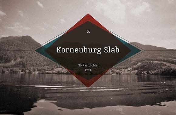 korneuburg_slab_free_font