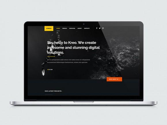kreo_free_website_template