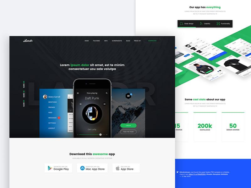 landr_web_&_mobile_template