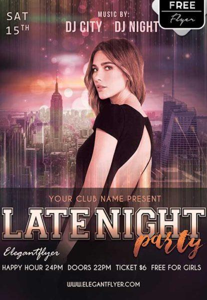 late_night_party_free_flyer_template