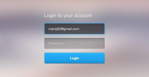 login_form_free_psd