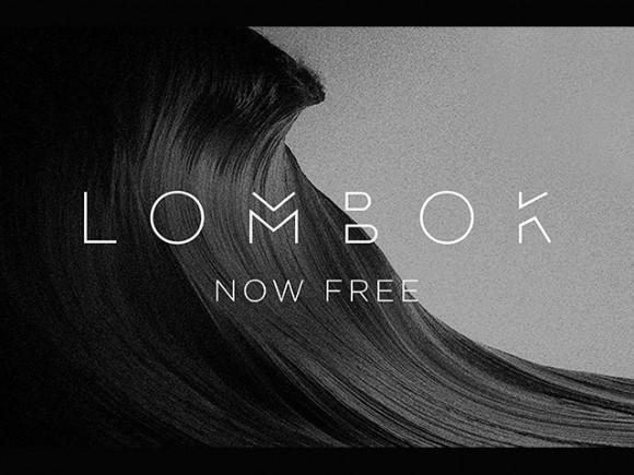 lombok_free_font