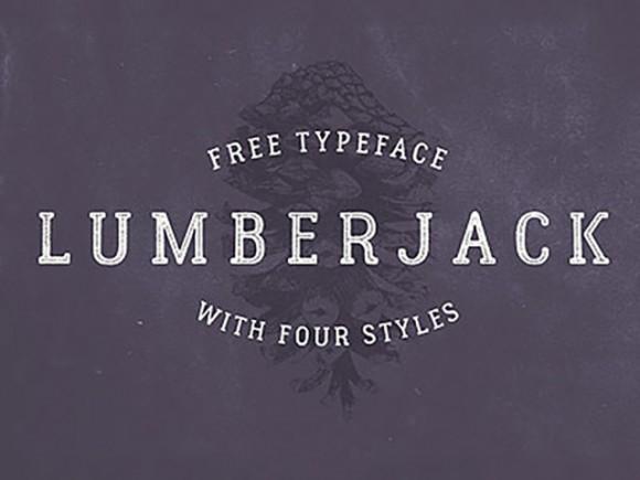 lumberjack_free_typeface_with_4_styles