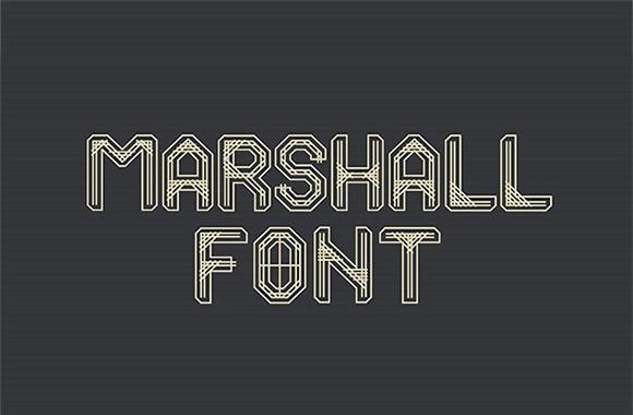 marshall_free_font