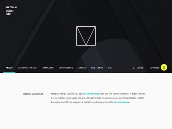 material_design_lite_framework