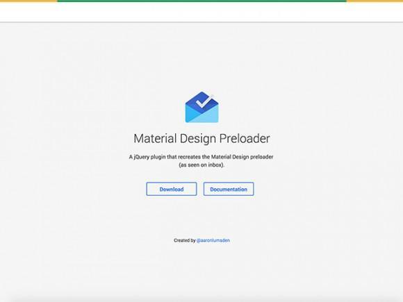 material_design_preloader