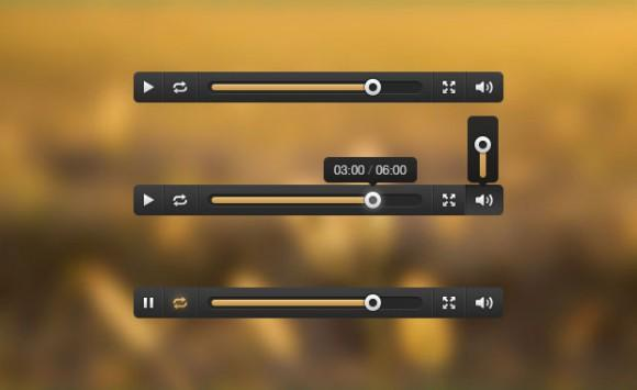 media_player_ui_free_psd