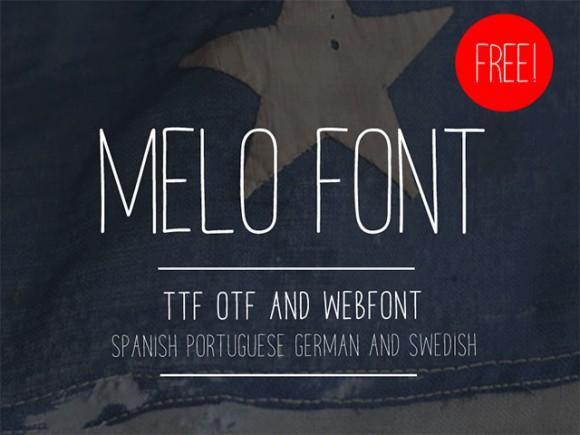 melo_free_font