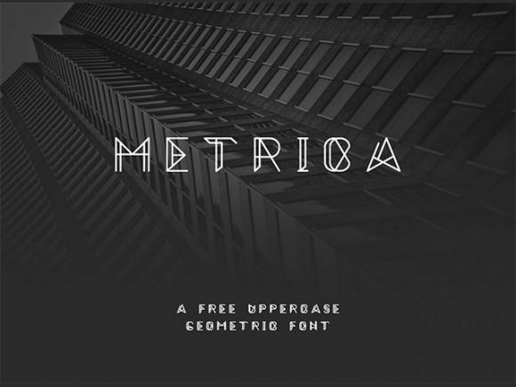 metrica_free_font