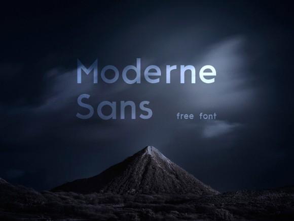 moderne_sans_free_font