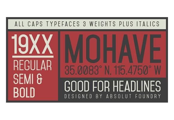 mohave_free_font