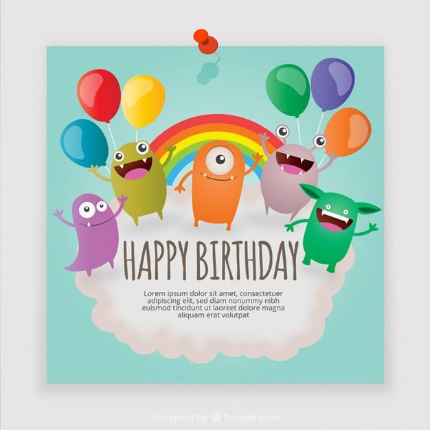 monsters_birthday_card