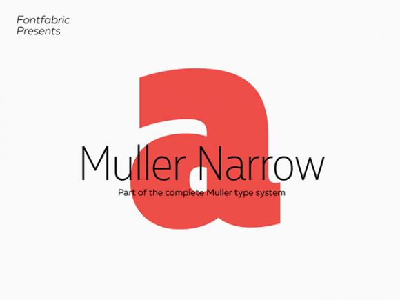 mueller_narrow_4_free_font_styles