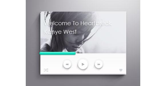 fancy_psd_music_player