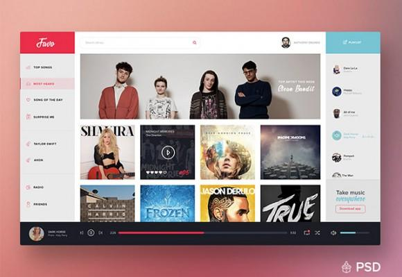 music_dashboard_ui