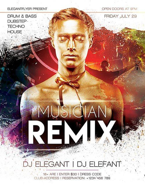electro_dj_remix_party_free_psd_flyer_template