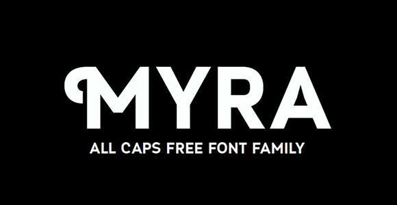 myra_4f_caps_free_font