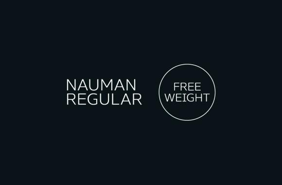 nauman_regular_free_font