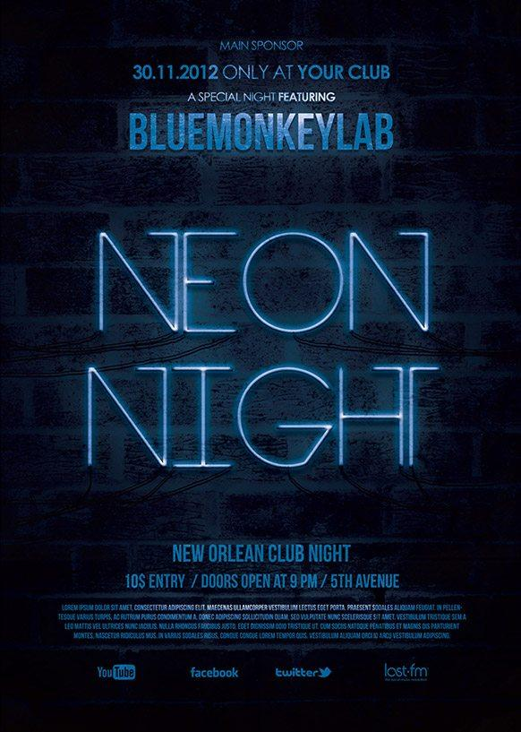 neon_night_free_flyer_template