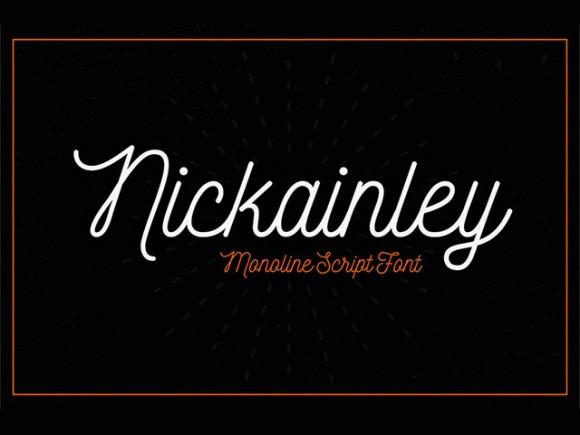 nickainley_free_font