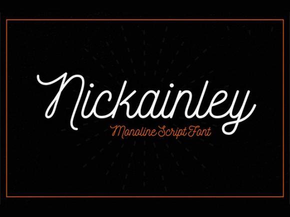 nickainley_free_font