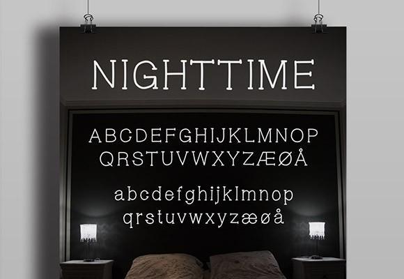 nighttime_free_font