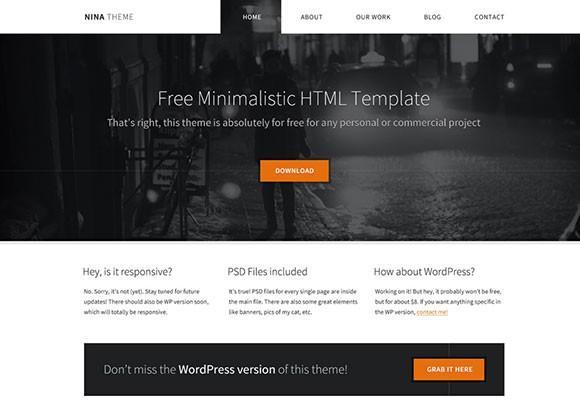 nina_free_html_minimal_template