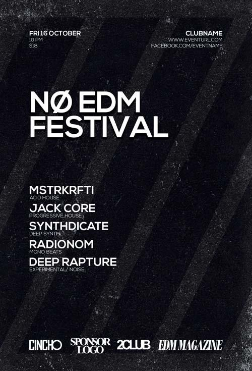 free_no_edm_festival_flyer_template