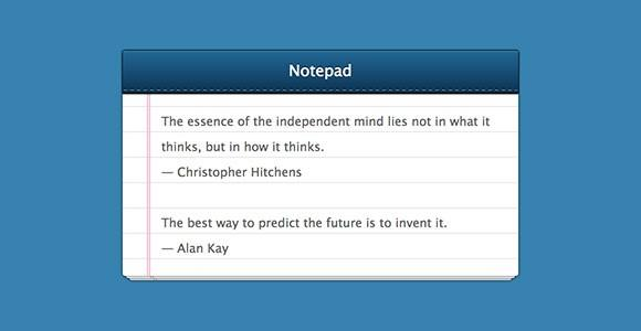 notepad_css_snippet