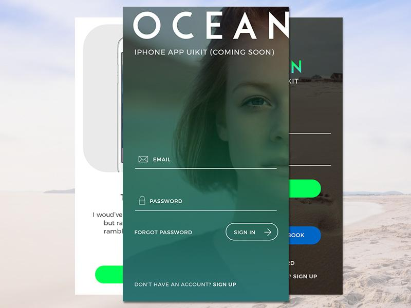 ocean_app_login_screen