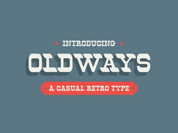 oldways_retro_free_font