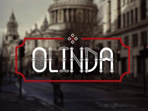 olinda_free_font