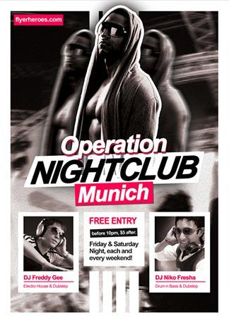 free_operation_nightclub_flyer_template