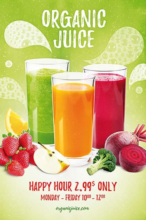 organic_juice_free_flyer_template