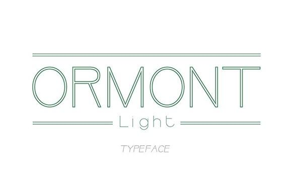 ormont_light_free_font