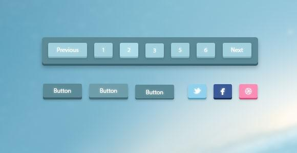 3d_pagination_and_buttons_psd