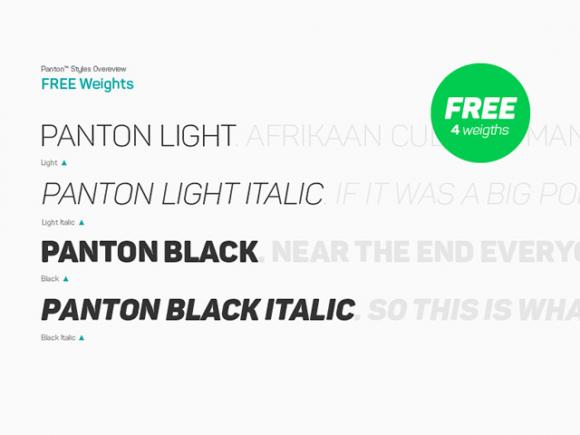 panton_free_font