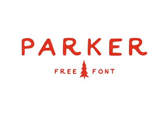 parker_free_font