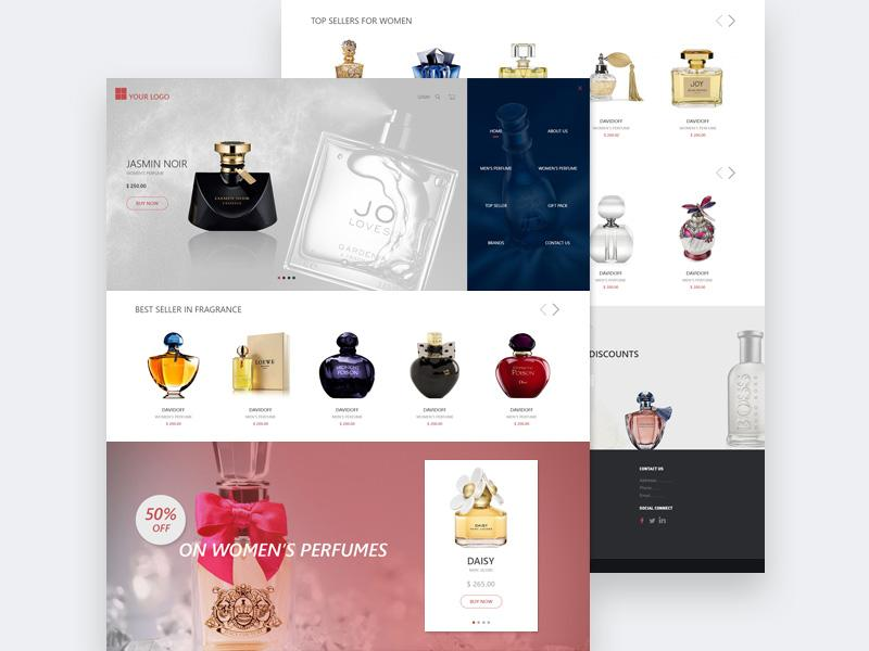 perfume_online_store_template