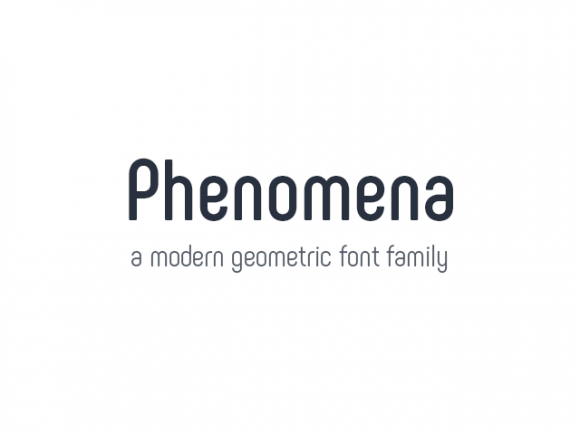 phenomena_a_free_font_family_in_7_weights