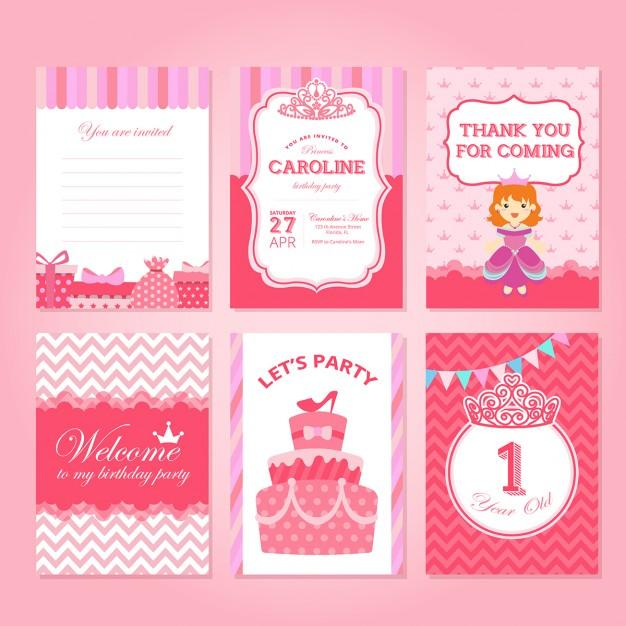 pink_princess_birthday_cards