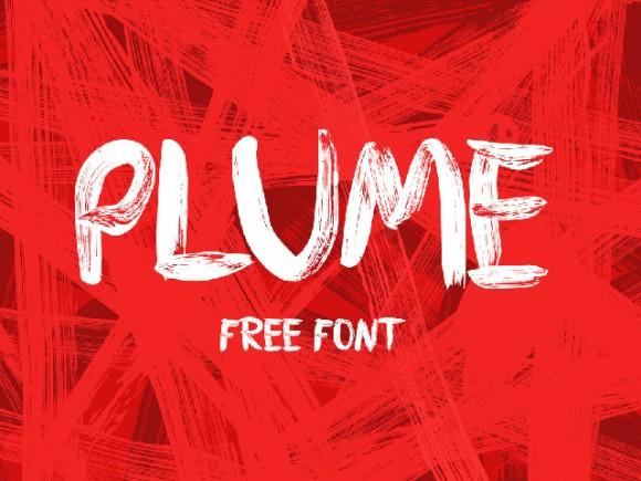 plume_free_font