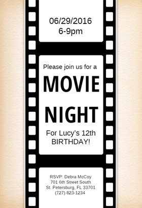 movie_night_birthday_party_invitations